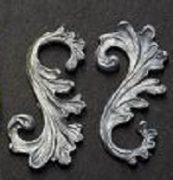 ACANTHUS CURLED FINE SMALL DZ8